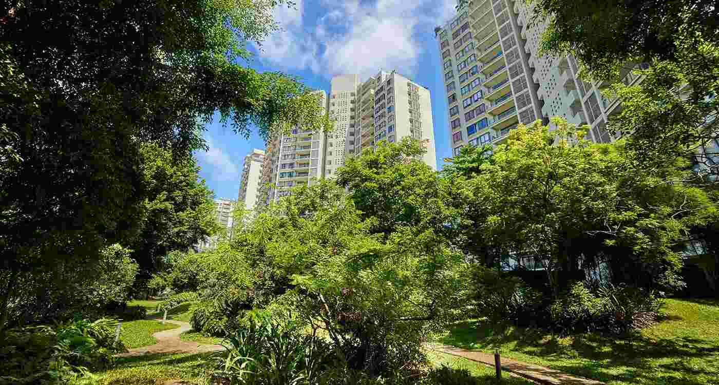 Havelock City luxury apartments for sale in colombo sri lanka - Connect with nature