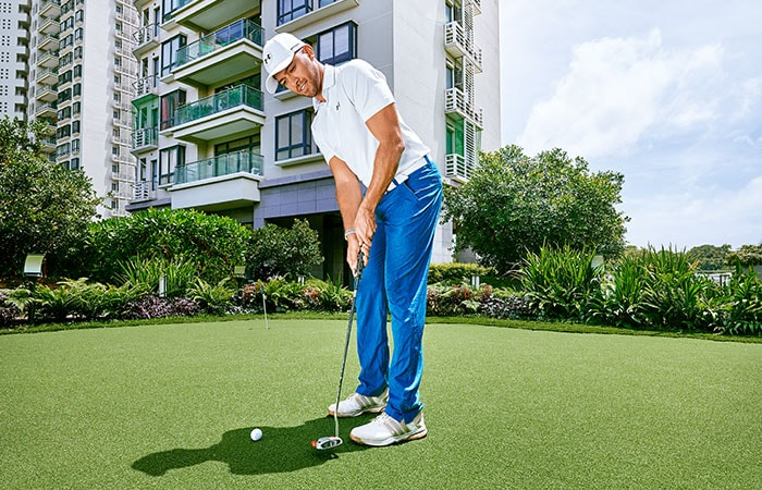 havelock-city-golf-pating-green-Havelock City luxury apartments for sale in colombo sri lanka